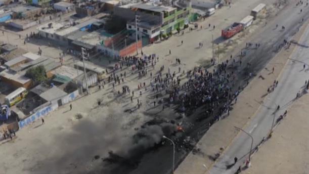 Βίαιες συγκρούσεις στο Περού