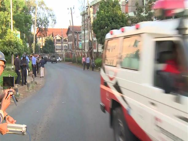 Eπιχείρηση απομάκρυνσης ομήρων ενόπλων στο Ναϊρόμπι