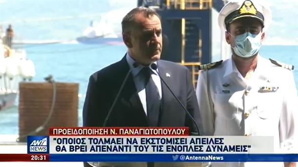 Αυστηρή προειδοποίηση στην Τουρκία από τον Νίκο Παναγιωτόπουλο