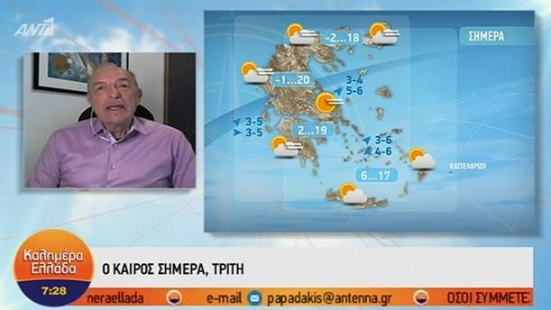 ΚΑΙΡΟΣ – ΚΑΛΗΜΕΡΑ ΕΛΛΑΔΑ - 05/03/2019