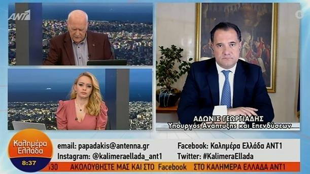 Άδωνις Γεωργιάδης - Υπουργός Ανάπτυξης και Επενδύσεων – ΚΑΛΗΜΕΡΑ ΕΛΛΑΔΑ - 02/02/2021