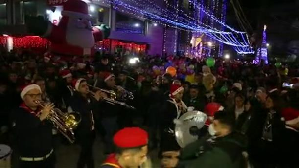 Χριστουγεννιάτικη εκδήλωση στη Συρία