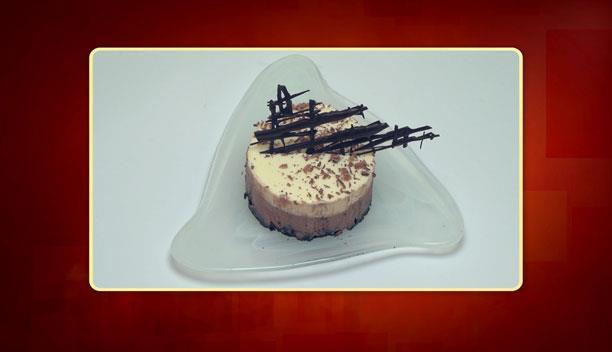 Γλυκό ψυγείου με 3 σοκολάτες του Βαγγέλη - Επιδόρπιο - Επεισόδιο 35