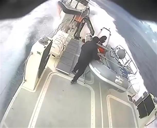 Βίντεο-ντοκουμέντο από την παρενόχληση σκάφους του ΛΣ απο τουρκική ακταιωρό