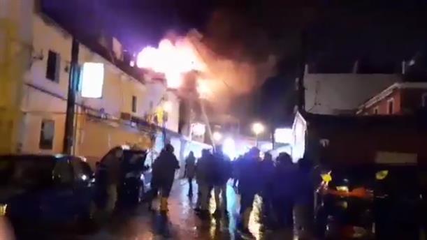 Φωτιά σε σπίτι στην Κέρκυρα