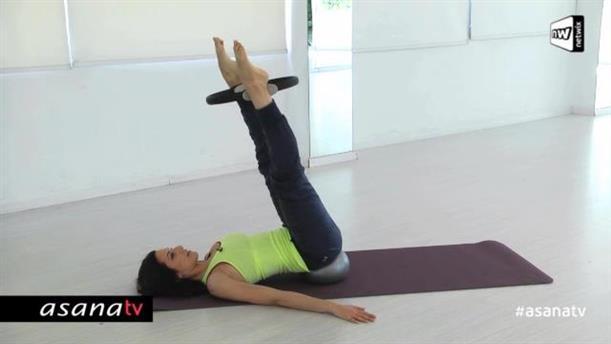 Pilates με mini-balls και ring (επίπεδο αρχαρίων)