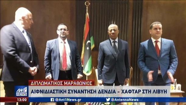 Διπλωματικός μαραθώνιος για τη συμφωνία Τουρκίας-Λιβύης
