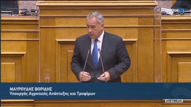 Μάκης Βορίδης : Άνθρακας ο θησαυρός του κ. Τσίπρα για τις ενισχύσεις των αγροτών