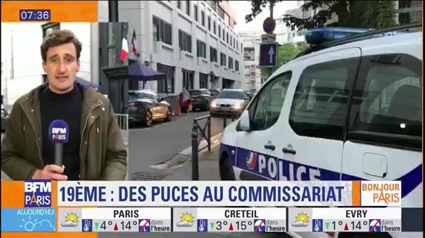 Αστυνομικό τμήμα στο Παρίσι εκκενώθηκε λόγω εισβολής ψύλλων