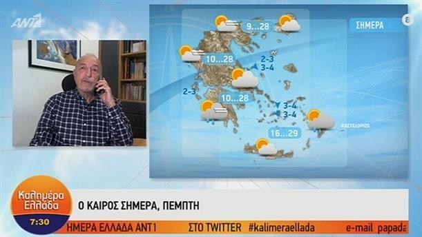 ΚΑΙΡΟΣ – ΚΑΛΗΜΕΡΑ ΕΛΛΑΔΑ - 17/10/2019