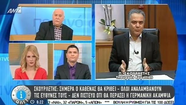 Πρωινό ΑΝΤ1 – Εκπομπή - 20/02/2015