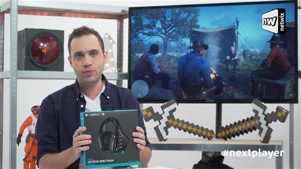 Next Player επ. 263: Wireless gaming με Logitech G933 Headset