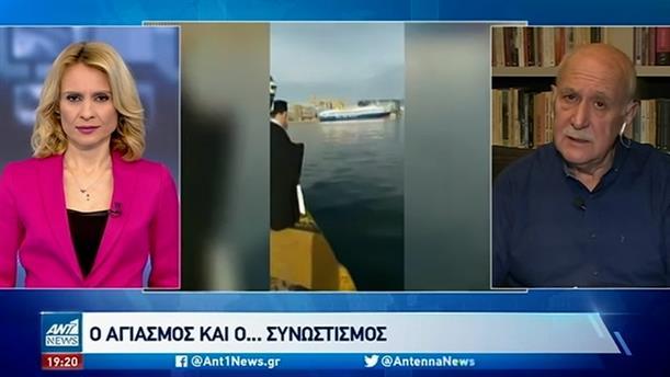 """Ο Γιώργος Παπαδάκης για την """"ανυπακοή"""" των Θεοφανίων"""