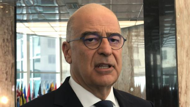 Εισαγωγική δήλωση Ν. Δένδια μετά την συνάντηση με τον Μ. Πομπέο