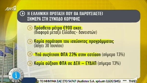 Τι προτείνει η Ελλάδα στους θεσμούς – 22/6/2015