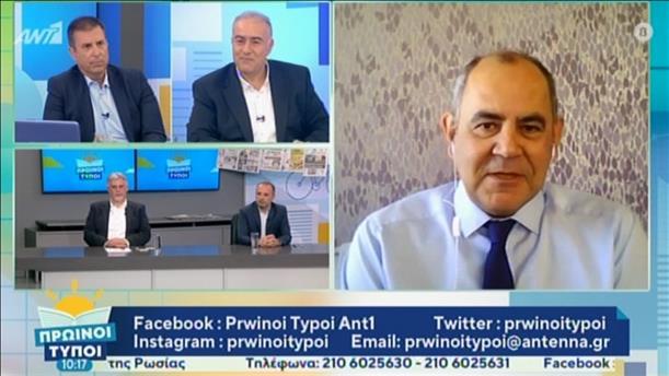 """Ο Βασίλης Διγαλάκης στην εκπομπή """"Πρωινοί Τύποι"""""""