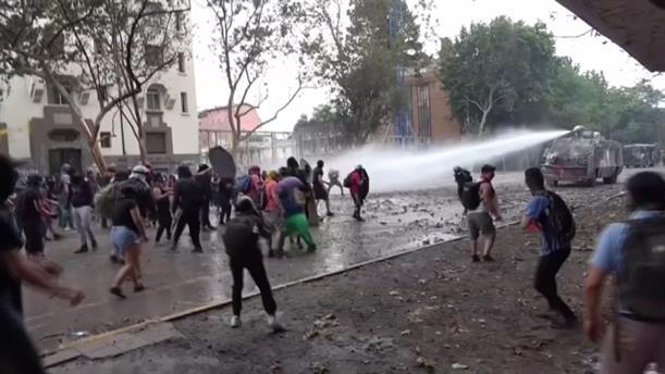 Νέος γύρος επεισοδίων στη Χιλή