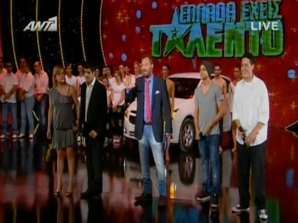 Ελλάδα έχεις Ταλέντο - 25/06/2012
