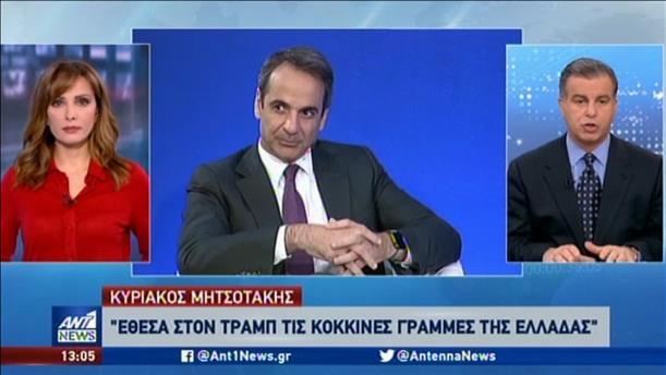 Σαφή μηνύματα στην Τουρκία έστειλαν Μητσοτάκης και Πάιατ