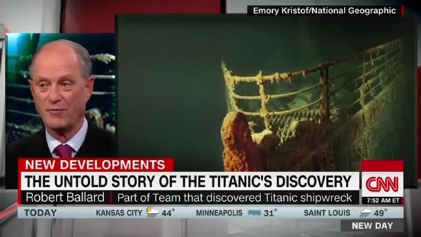 Μυστική αποστολή οδήγησε στην ανακάλυψη του Τιτανικού