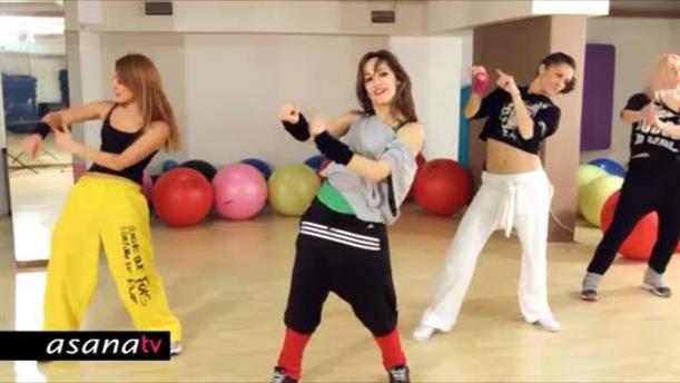Πρόγραμμα γυμναστικής και χορού με Hip-Hop