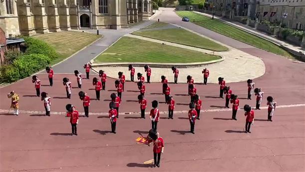 H Στρατιωτική Μπάντα της Ουαλίας τιμά τα γενέθλια της Ελισάβετ