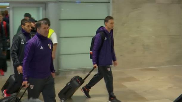 Θερμή υποδοχή των παικτών της Μπόκα στη Μαδρίτη