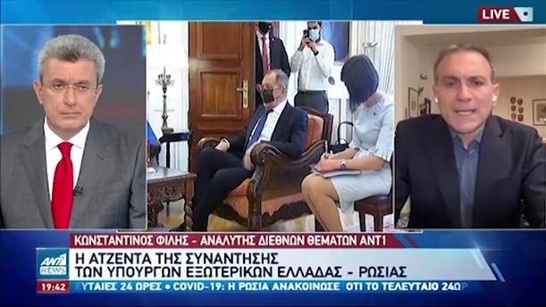 """Ο Κωνσταντίνος Φίλης για την """"κρατική αεροπειρατεία"""""""