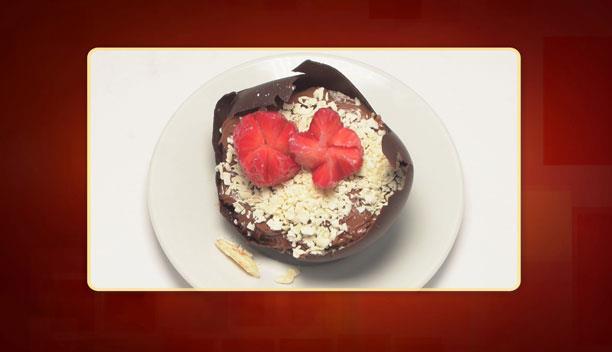 Cheese cake με πραλίνα του Γιώργου - επιδόρπιο - Επεισόδιο 62