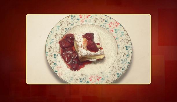 Μιλφέιγ με καραμελωμένες φράουλες του Λεωνίδα - Επιδόρπιο - Επεισόδιο 65