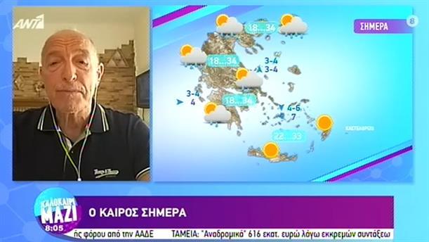 ΚΑΙΡΟΣ – ΚΑΛΟΚΑΙΡΙ ΜΑΖΙ - 18/08/2020
