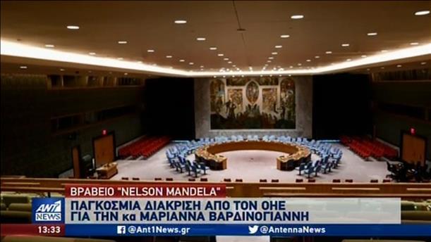 ΟΗΕ: Βραβείο «Νέλσον Μαντέλα» στην Μαριάννα Βαρδινογιάννη