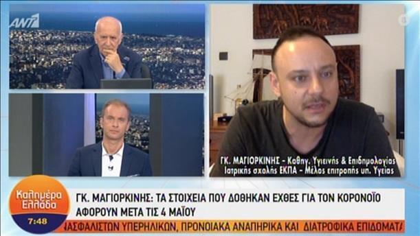 """Ο Γκίκας Μαγιορκίνης στην εκπομπή """"Καλημέρα Ελλάδα"""""""