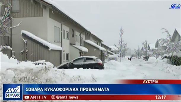 Φονικές χιονοστιβάδες στις Άλπεις