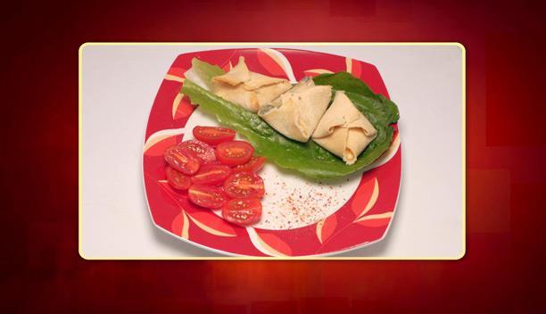Γεμιστό ψωμί με τυριά (Γεμιστά ψιχάκια) της Κατερίνας - Ορεκτικό - Επεισόδιο 10