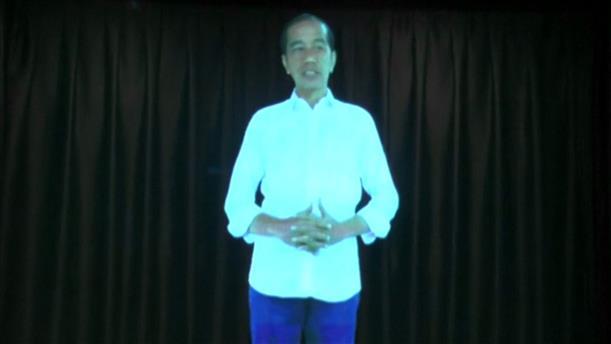 O Πρόεδρος της Ινδονησίας σχεδιάζει ολόγραμμα για ψηφοφόρους σε απομακρυσμένες περιοχές