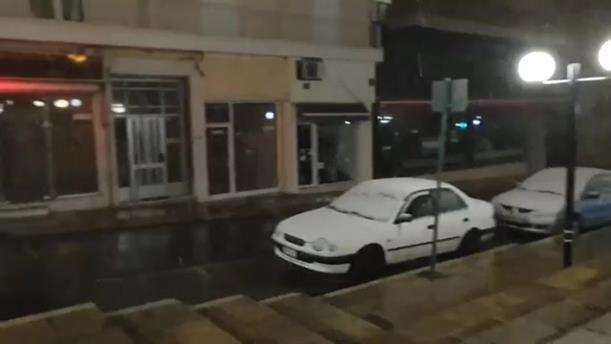 Χιόνια στην Κοζάνη