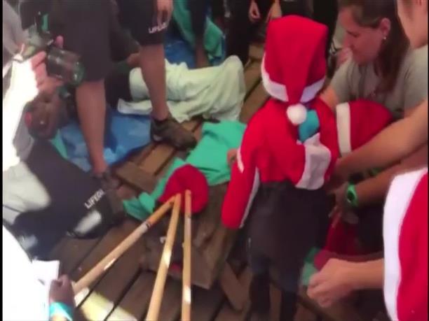 Χριστούγεννα σε επιχείρηση διάσωσης έκαναν παιδιά πρόσφυγες
