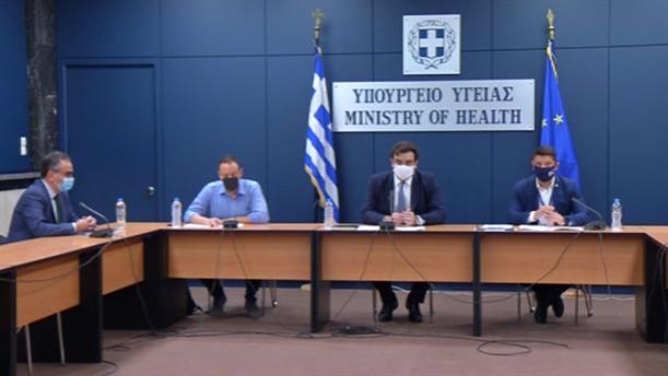 Χαρδαλιάς - Μαγιορκίνης - Πιερρακάκης για τον κορονοϊό και τον Χάρτη Υγειονομικής Ασφάλειας
