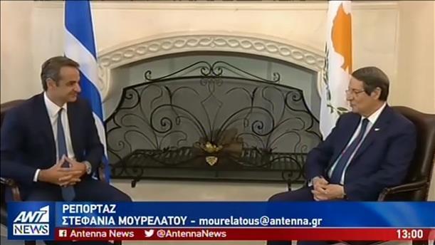 Στη Λευκωσία ο Πρωθυπουργός