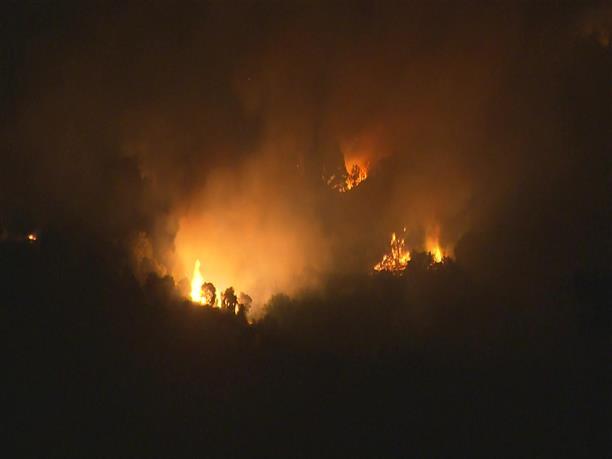 Φωτιά στην περιφέρεια της Μαδρίτης