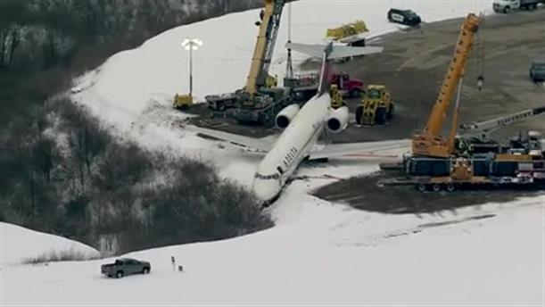 Αεροπλάνο βγήκε εκτός διαδρόμου απογείωσης