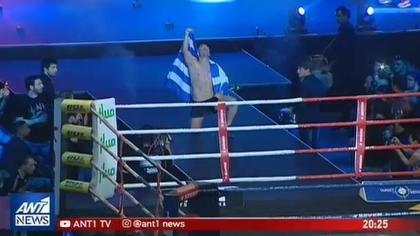 Επιστρέφει στα ρινγκ ο Μιχάλης Ζαμπίδης