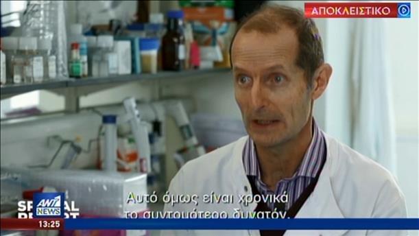 Ο ΑΝΤ1 στην καρδιά εργαστηρίου που ψάχνει το εμβόλιο για τον κορονοϊο