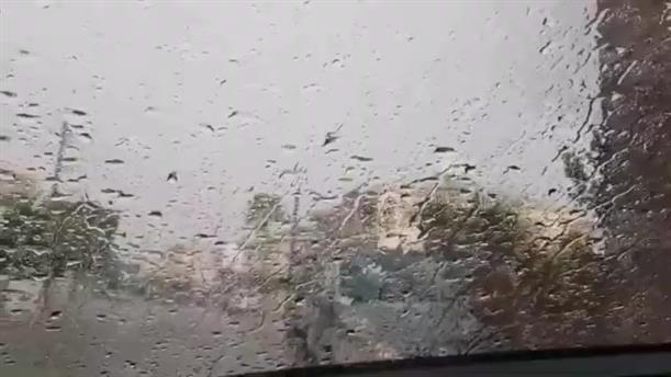 Καταρρακτώδεις βροχές στην Κύπρο