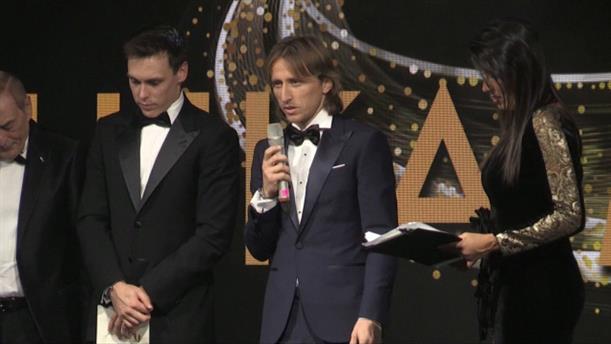 Το βραβείο «Golden Foot» στον Μόντριτς