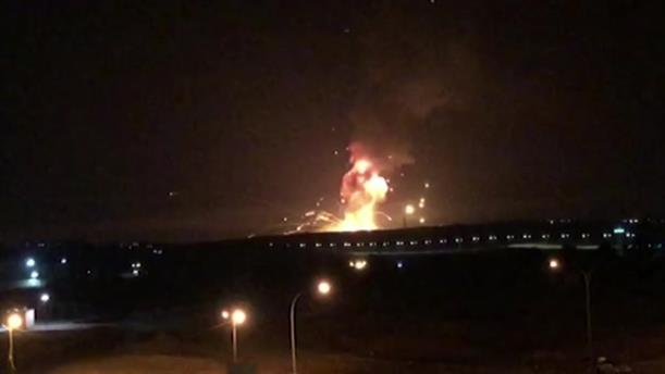 Ιορδανία: Iσχυρές εκρήξεις σε στρατιωτική βάση