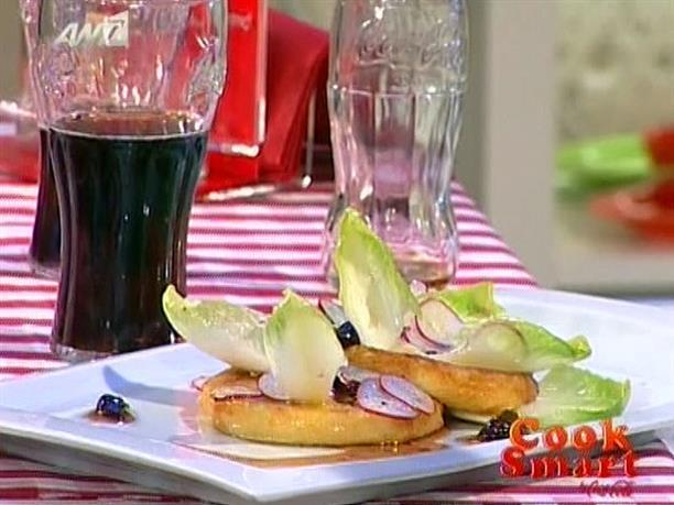 Τυρί σαγανάκι με μαρμελάδα