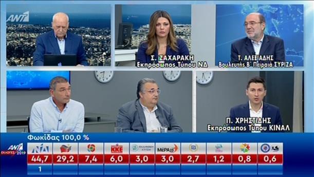 """Ζαχαράκη - Αλεξιάδης - Χρηστίδης για το αποτέλεσμα των εκλογών, στην εκπομπή """"Καλημέρα Ελλάδα"""""""