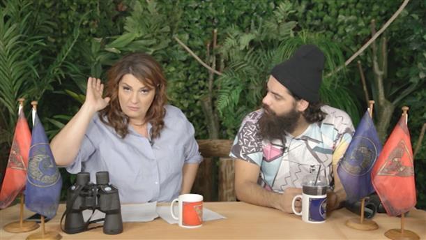 Talking Nomads Day 24: Μαλλιοκούβαρα ο Μαυρίδης με Ζώη και Κολέτσα!